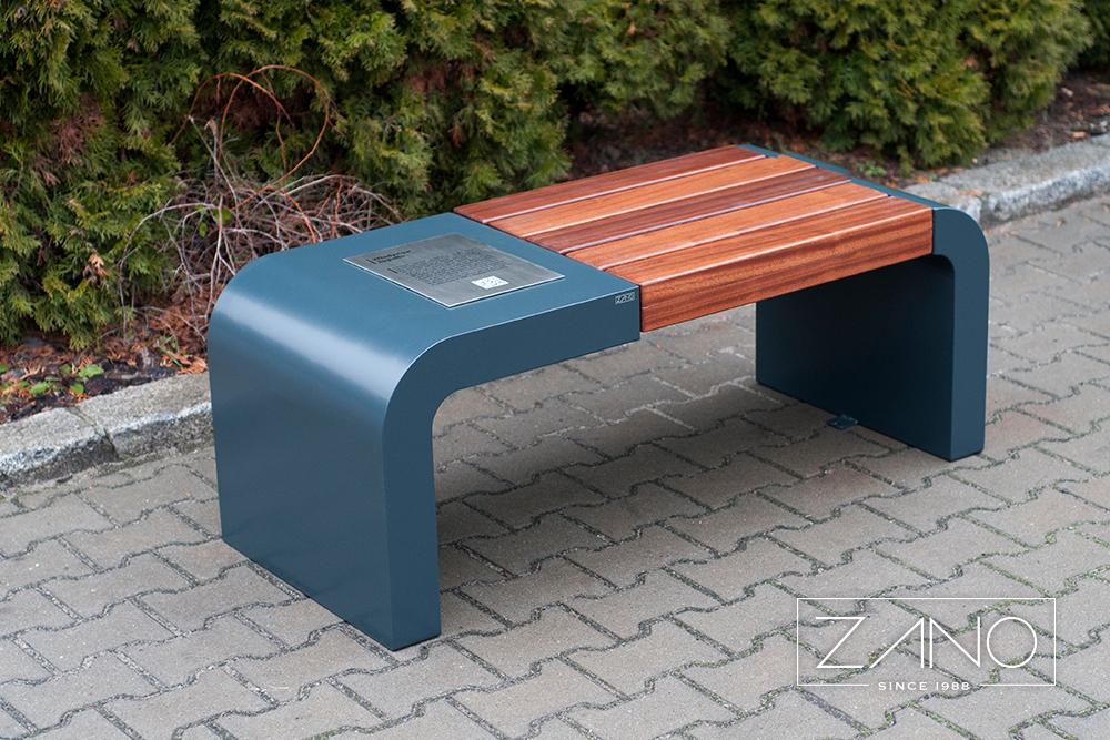 Modern street benches Gravis