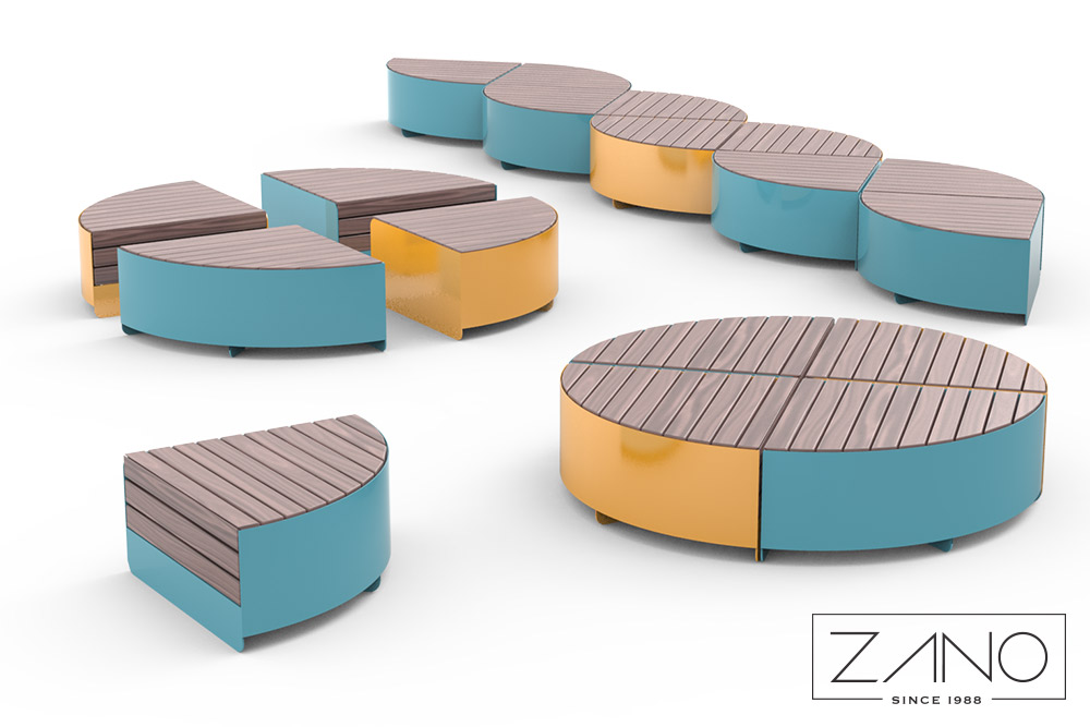 Orbit modular bench
