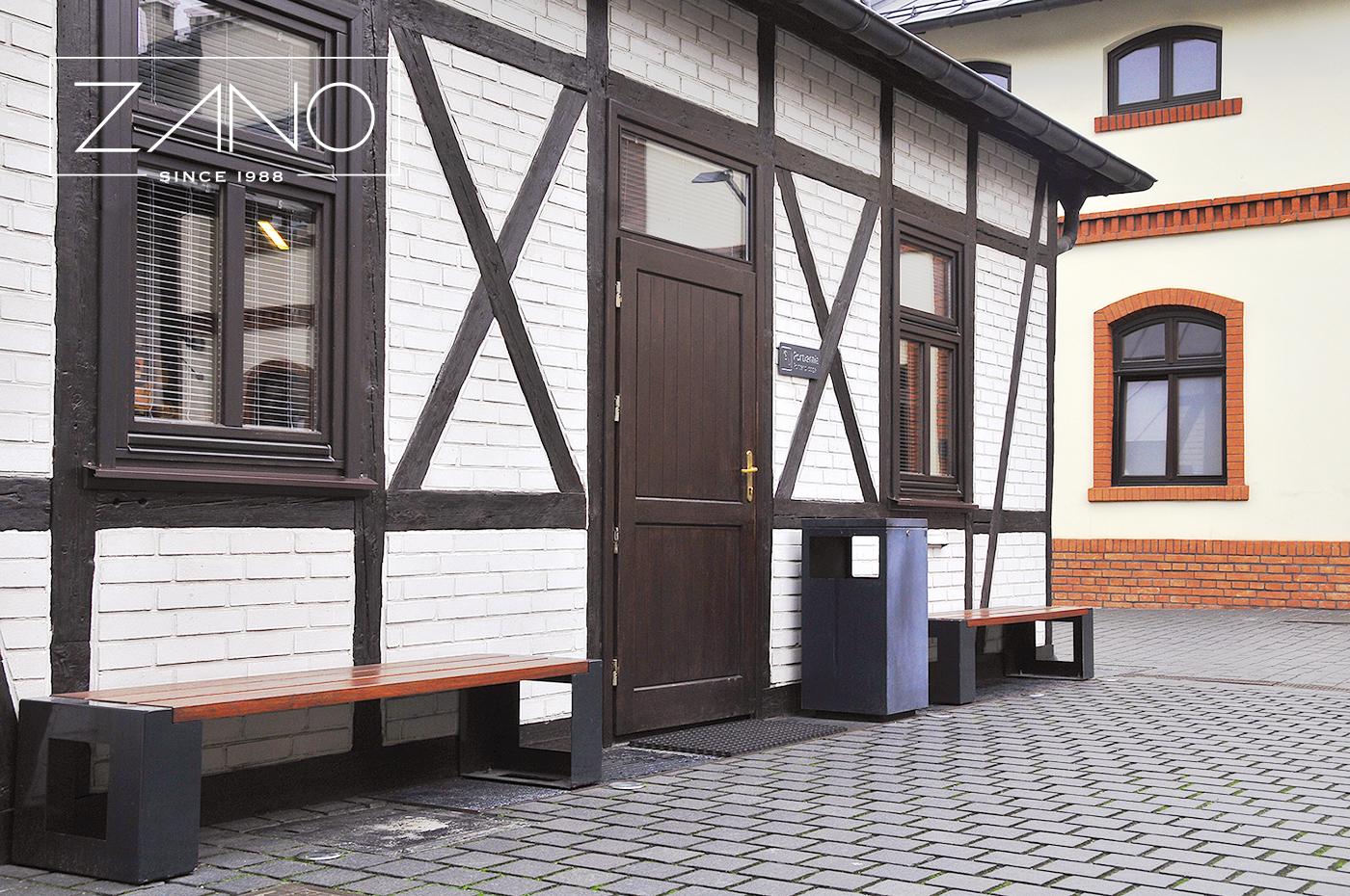 Скамейки и урны Mimesis Краков, Музей городской инженерии