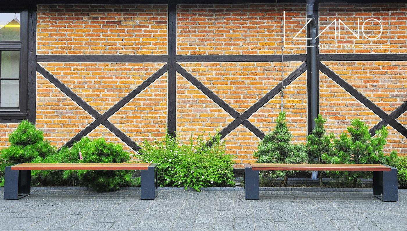 Уличная мебель в городе Краков